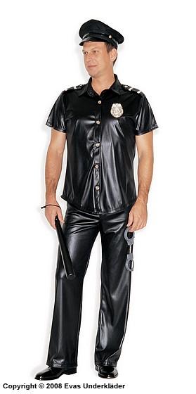 polisuniform maskerad spraydate